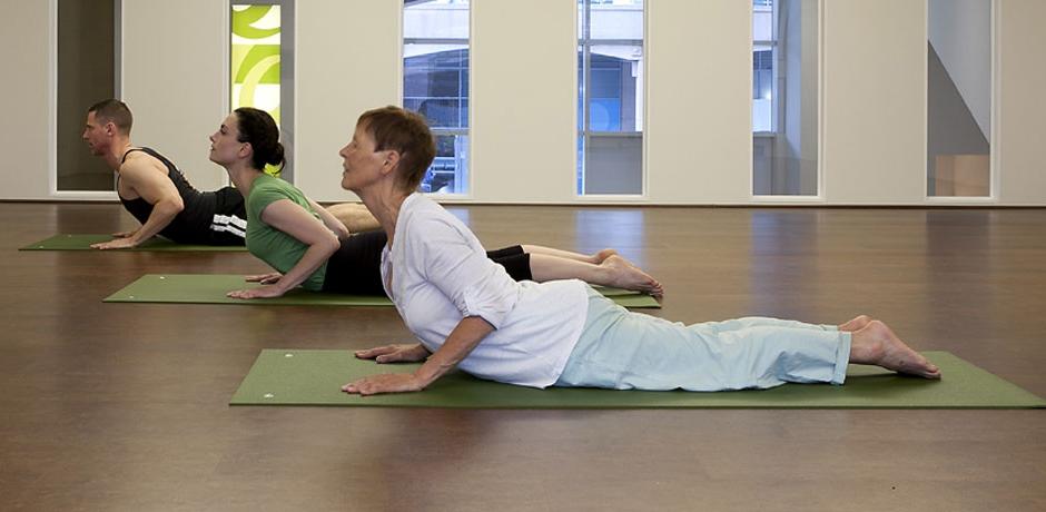 yoga class image